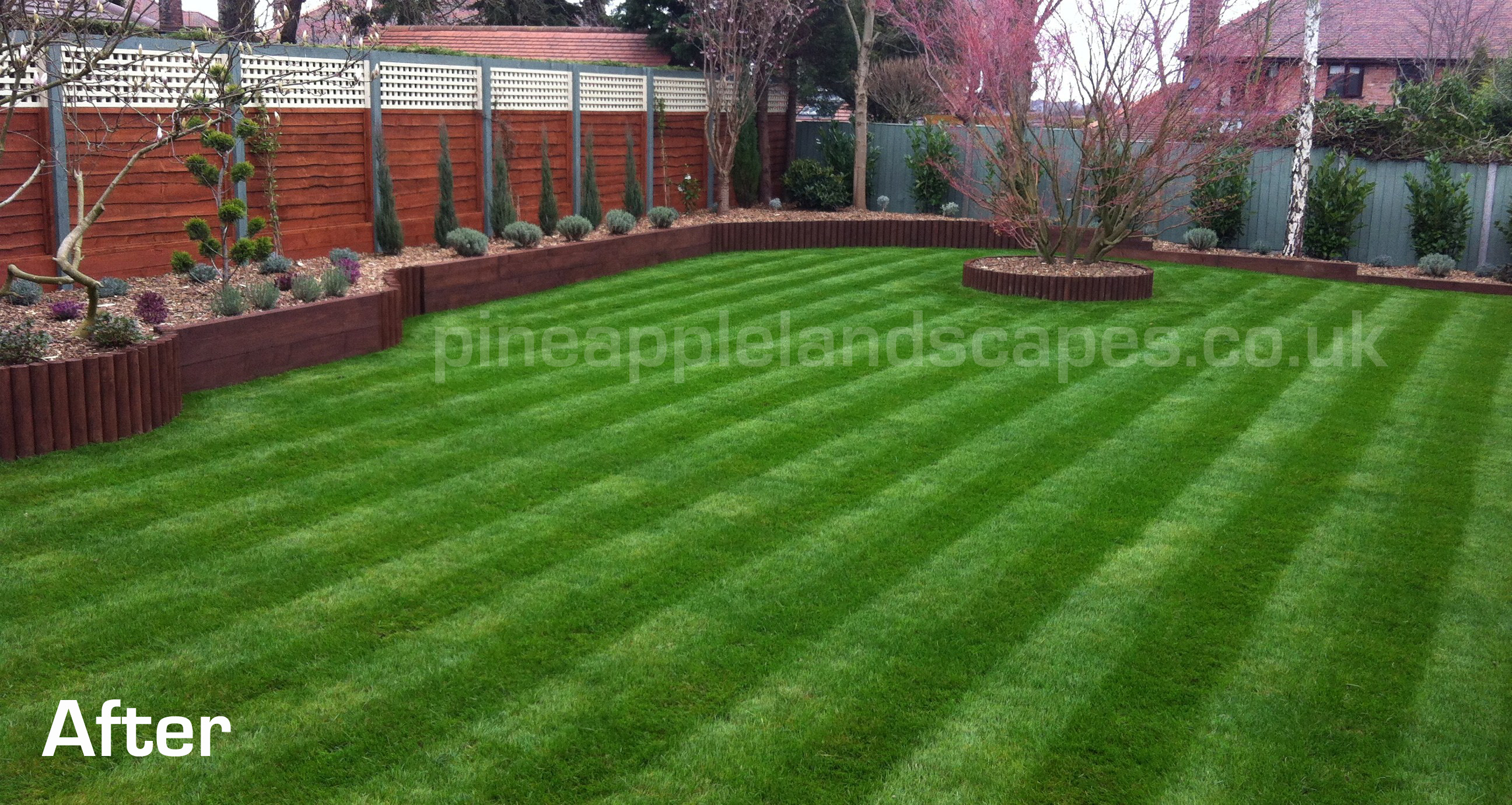 Garden makeover walton heath rd walton warrington for Garden makeover